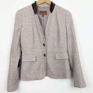 Honey & Hive Tweed Jacket w/ Elbow patches Small